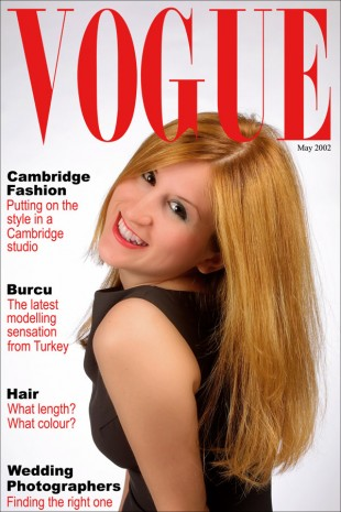 Vogue Front Cover © David Steel