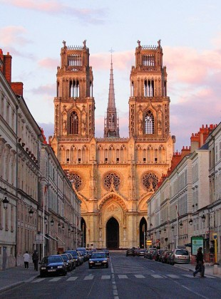 Cathedral of Sainte Croix, Orleans © David Steel