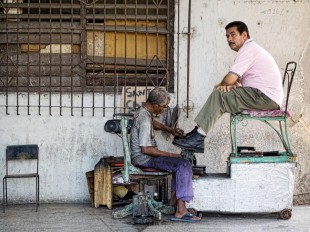 Havana Shoe Shine © David Steel