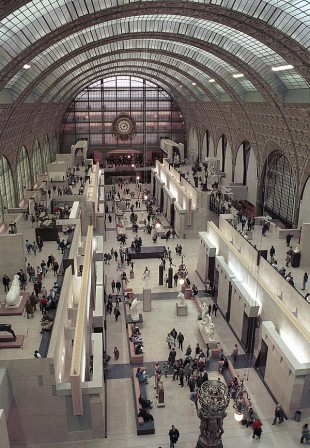 Musee d&#039;Orsay, Paris  David Steel