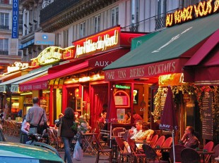 Paris Restaurants © David Steel