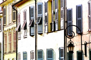 Shutters at Antibes © David Steel