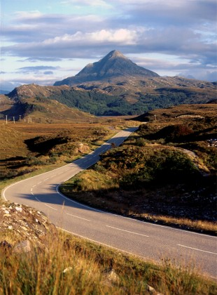 The Road to Ben Stack © David Steel