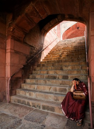 The Steps to Humayun&#039;s Tomb  David Steel
